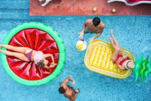 Creative Pool Party