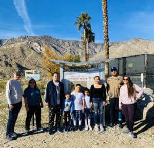 South Lykken Trail - Paradise Activity Company Trail in Palm Canyon CA