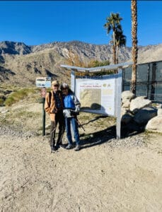 South Lykken Trail - Paradise Activity Company Trail in Palm Canyon CA7