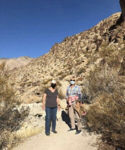 South Lykken Trail - Paradise Activity Company Trail in Palm Canyon CA5